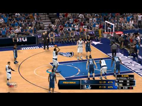 NBA 2K14: Dallas Mavericks vs Memphis Grizzlies (Mavs Season game 3)