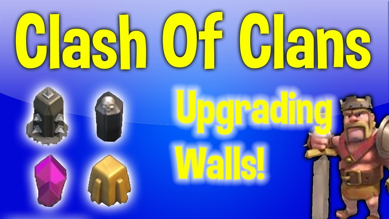 Clash of Clans Wall Levels