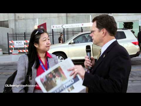 William F. Jasper interviews Li Xing of China Daily Newspaper
