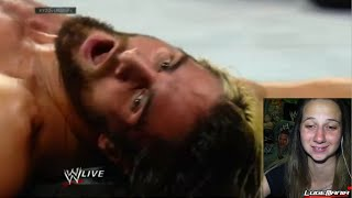 WWE Raw 7/28/14 Seth Rollins vs Jericho Live Commentary