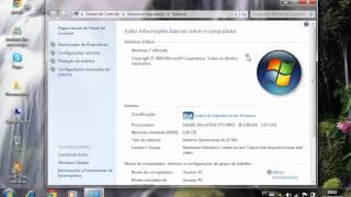 Como Saber Se Seu Windows 7 é ORIGINAL.avi