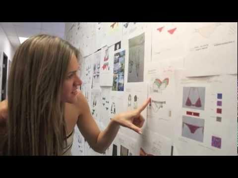 Paula Begins Choosing for the Design A Bikini Contest