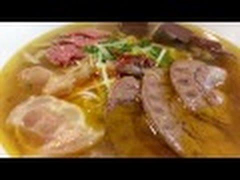 Bún bò huế đặc biệt,cách nấu.by LIÊN NGUYỂN . U .S.A.