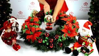 Decoración para Navidad: Corona navideña