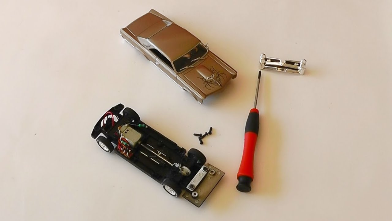 carrera bahn slot car tuning pontiac gto 1966 umbau. Black Bedroom Furniture Sets. Home Design Ideas