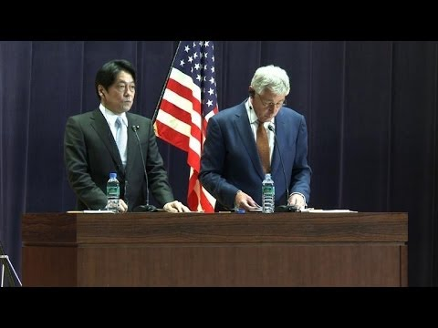 US to send two more anti-missile ships to Japan: Hagel