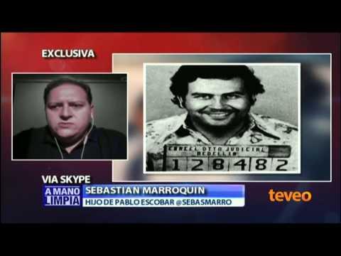 Sebastián Marroquín el hijo de Pablo Escobar en A Mano Limpia I - América TeVé