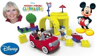 Mega Bloks Mickey Mouse Clubhouse Mickey's Garage
