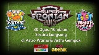 Super Spontan 2 (2013) - Minggu 1