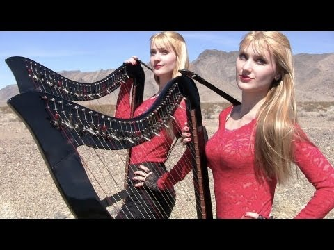 HIGHWAY TO HELL  - AC/DC (Harp Twins electric) Camille and Kennerly