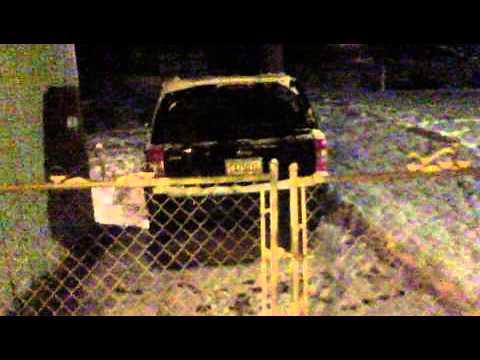 Winter Storm Atlanta GA, Jan. 2014 Day 2 @6:45 AM  January 29th.