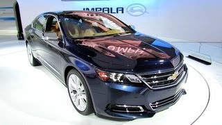 2014 Chevrolet Impala Exterior and Interior - Debut at 2012 New York International Auto Show