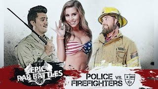 Epic Rap Battle: Police Vs. Firefighter