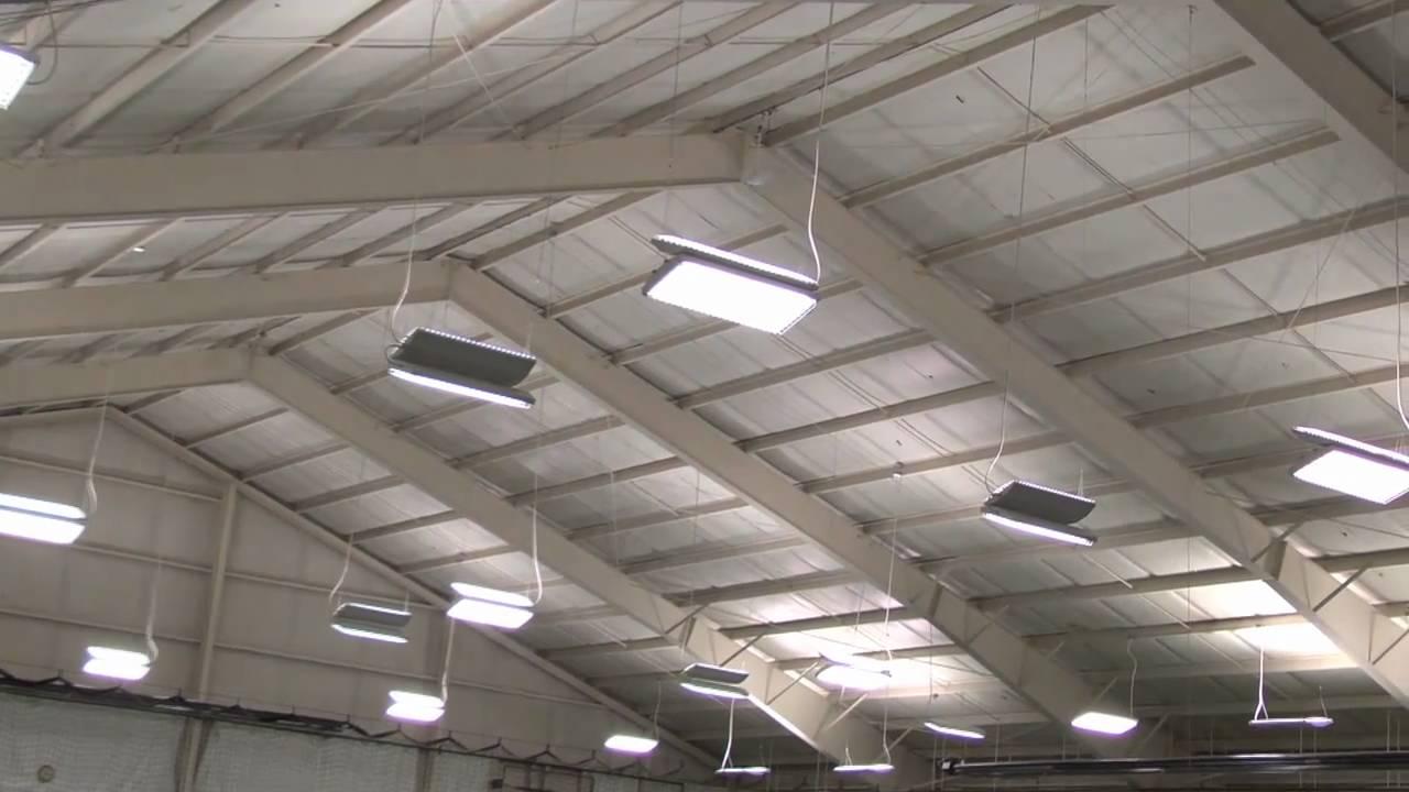 Best Lighting System In Columbus Indoor Tennis Courts YouTube