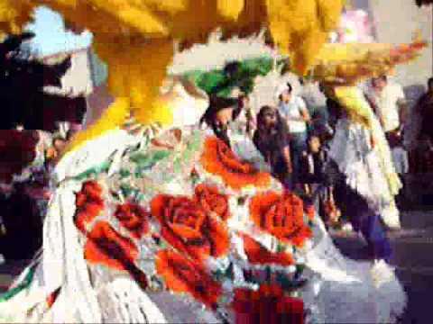 Huehues de Carnaval  en Tlaxcala, México
