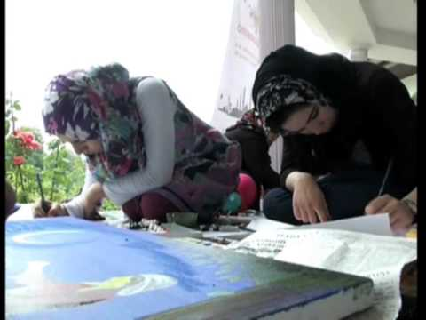 Headline: Kids paint myriad hues of Ramadan in Jammu and Kashmir