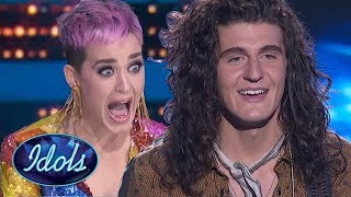Katy Perry FREAKS OUT After Cade Foehner ROCKS American Idol!