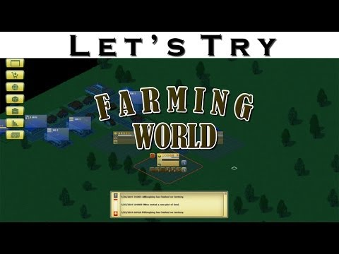 Let's Try - Farming World - Simulation Gameplay