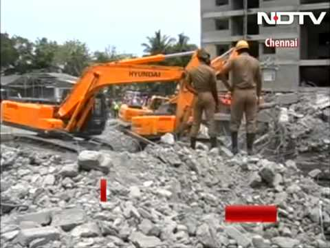 Number of dead in Chennai building collapse rises to 47