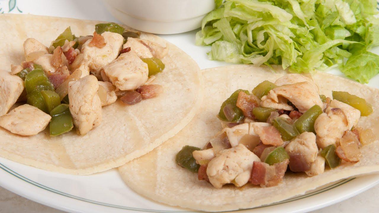 Chicken tacos tacos de pollo a la parrilla med diet - Tacos mexicanos de pollo ...