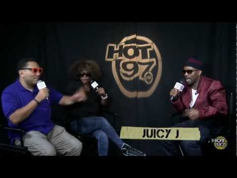 Juicy J talks to Cipha & KFoxx about Three 6 Mafia, Working with Wiz & More!!