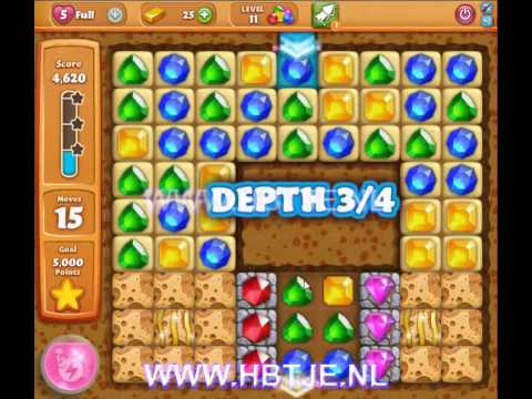 Diamond Digger Saga level 11