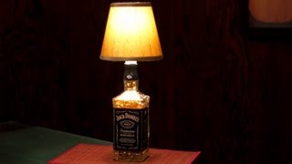 How To Make A Bottle Lamp!