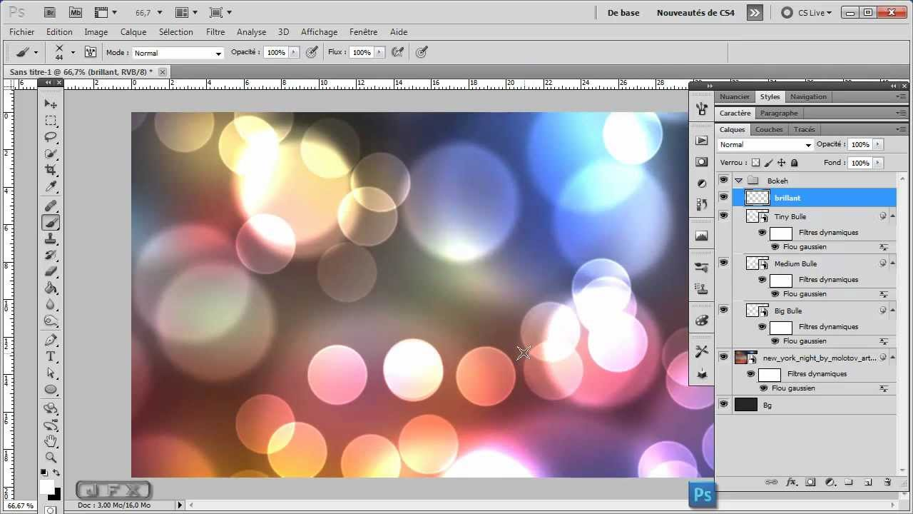 Formation photoshop cs5 cs6 effet bokeh youtube for Effet miroir photoshop cs5