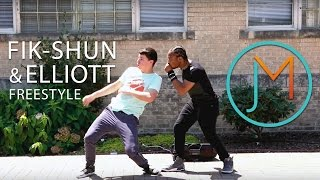 Fik-Shun and Elliott Freestyle // JUSMOVE App Winner