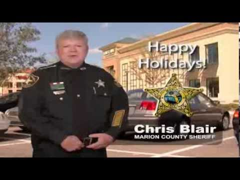 Holiday Criminals Could Be Lurking Sheriff Chris Blair Wants You To Be Safe