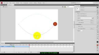 การสร้าง Animation ด้วย Motion Tween