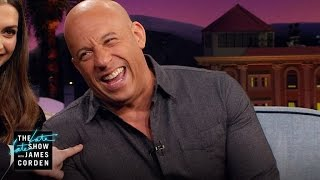 Vin Diesel Auditions for Carpool Karaoke