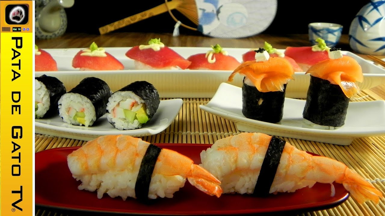 Sushi paso a paso sushi step by step youtube - Cocinar sushi facil ...