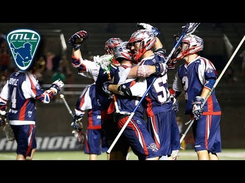 MLL Week 10 Highlights: Charlotte Hounds at Boston Cannons