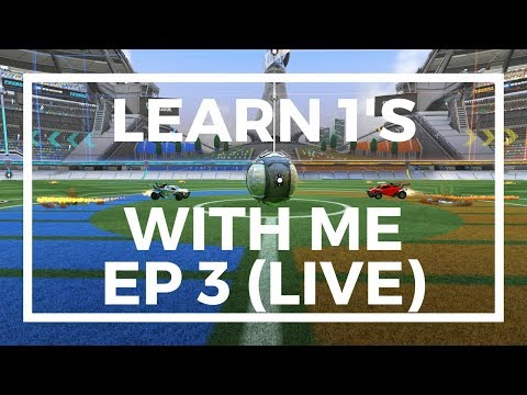 Learn 1V1 Tips and Tricks - Live Commentary - Rocket League Gameplay