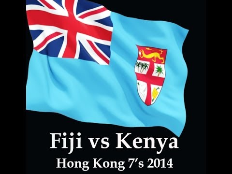 Fiji vs Kenya Hong Kong 7's 2014