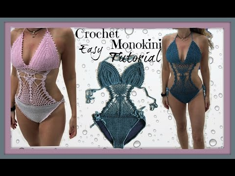 Easy Crochet Monokini Tutorial