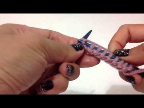 Hướng dẫn mũi đan cơ bản : mũi đan K (thuận) và mũi đan P (nghịch)