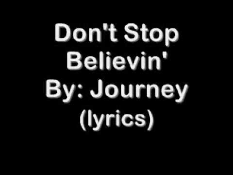 how to play journey don t stop believing on piano