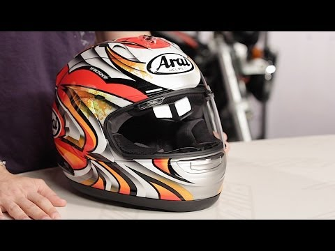 Arai Corsair V Nakagami Helmet Review at RevZilla.com
