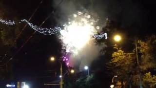 Focuri de artificii in PMAN