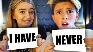 NEVER HAVE I EVER WITH MY GIRLFRIEND!! (DIRTY)