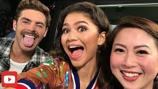 Zac Efron talks about BALUT & coming back to the Philippines PLUS Zendaya on discrimination.