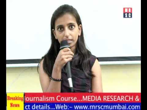 Media Research & Study Center Wrkshop with Kirti College