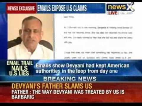 NewsX accesses email trail between Devyani Khobragade and US authorities