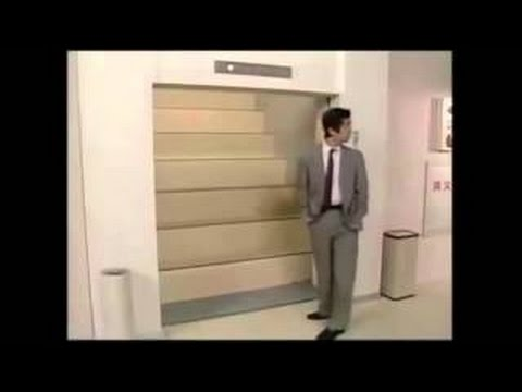 The best of   Japanese elevator prank   Funny vid!