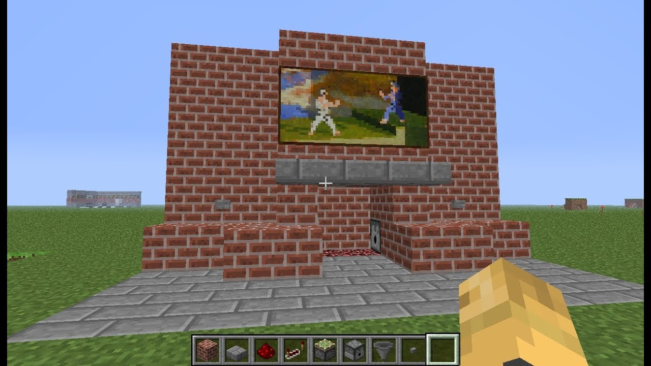 Minecraft Fireplace Design Viewing Gallery