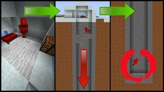 4 Minecraft STRUCTURE Traps! (Igloo, Temples, Villages)