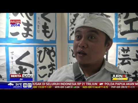 Pameran Lukisan di Perayaan 40 Tahun Hubungan Indonesia-Jepang