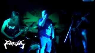 FEARLESS - 'Street of terror' Lanzamiento EP Sentencia (21/03/14) Cenicero Bar